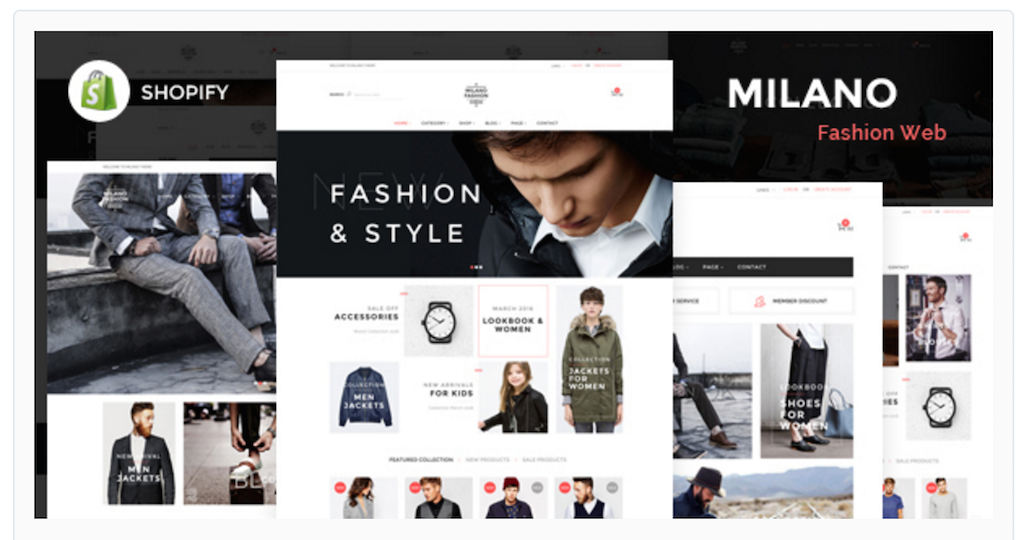 Milano Shopify Theme