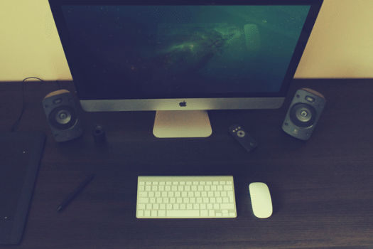 Photorealistic iMac Mock free download