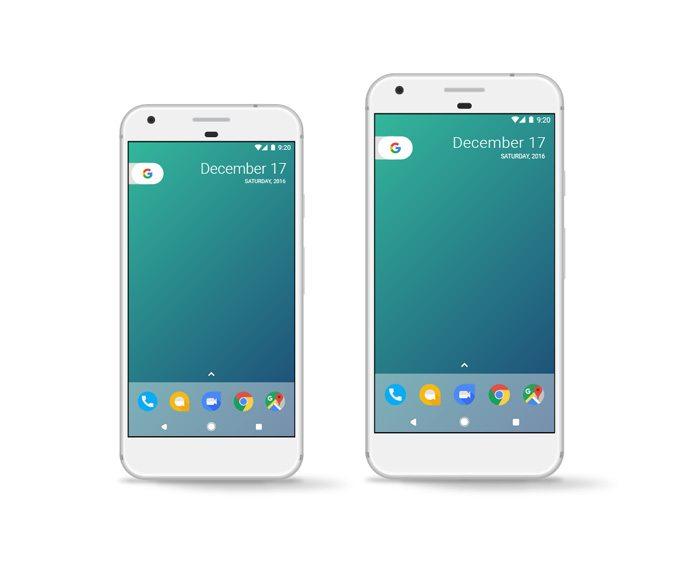 Pixel Phone PSD Mockup Template