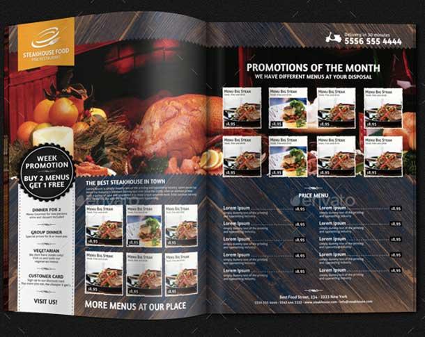 Restaurant Magazine Ad