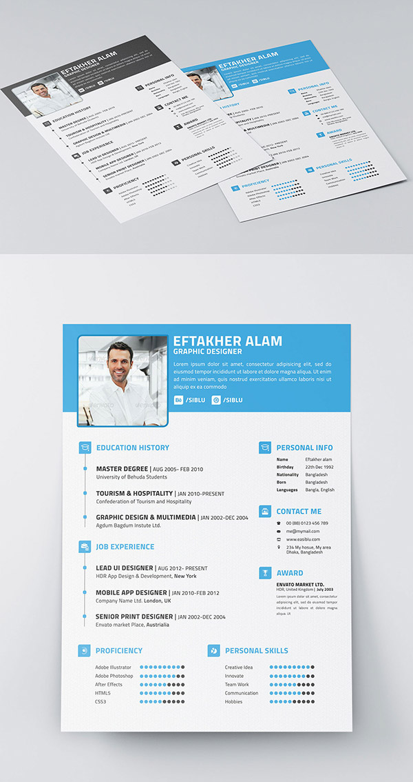 Resume cv business card indesign resume templates resume cv business card indesign resume templates flashek Choice Image