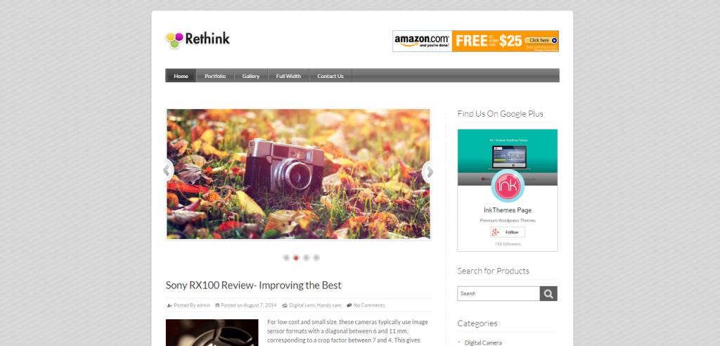 Rethink Affiliate Marketing WP Themes