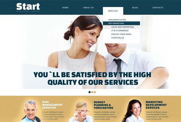 Start insurance wordpress theme