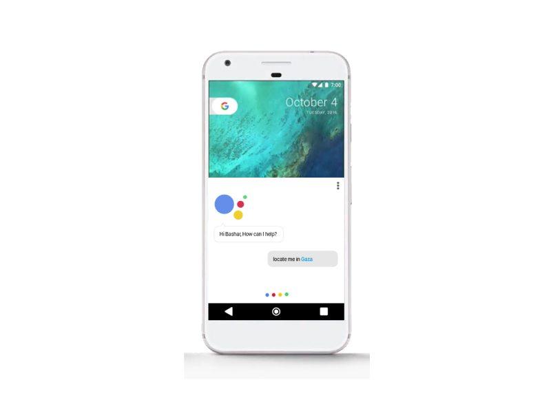 Stylish Google PSD Mockup Template