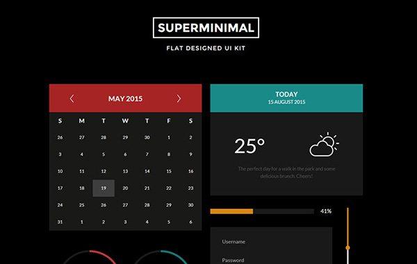 Unique HTML5 CSS3 Ui Kits