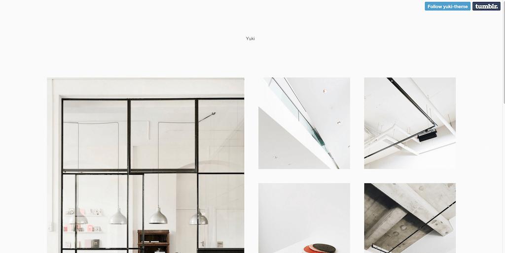 Yuki tumblr themes
