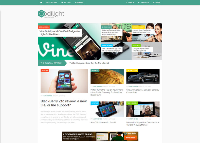 codilight Affiliate Marketing WP Themes