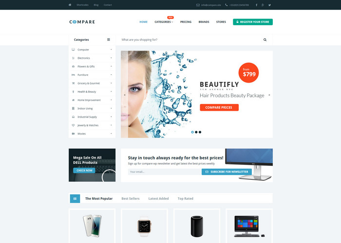 compare Affiliate Marketing WP Themes
