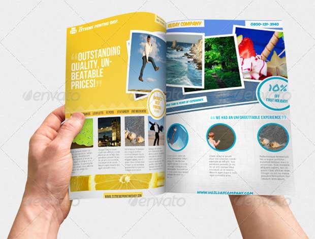 download Magazine Ad Template