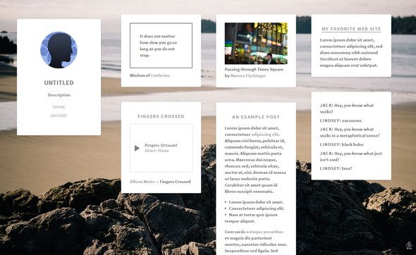 gallery tumblr themes