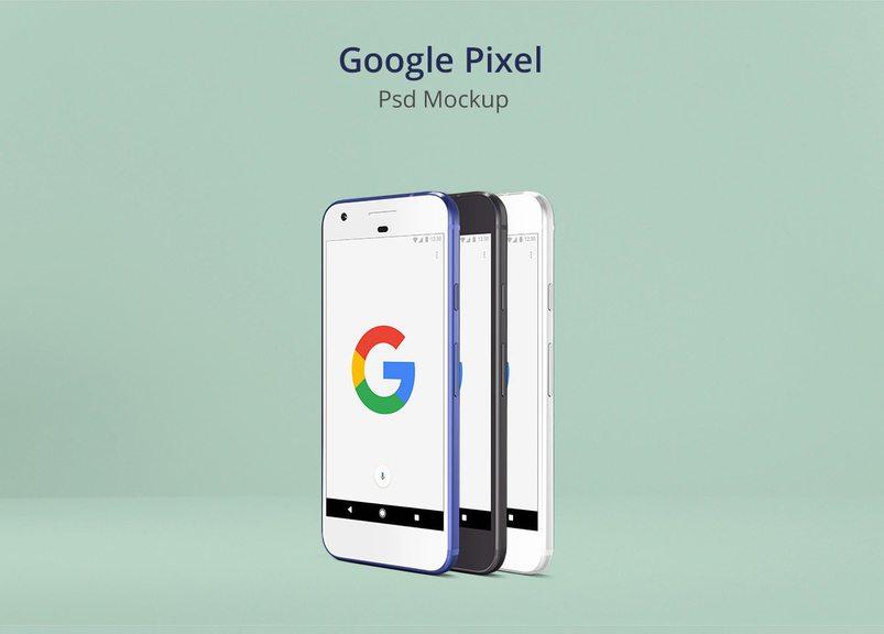 google pixel psd mockup3 2