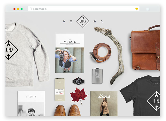 luna crafts and goods Shopify Theme For Online Store