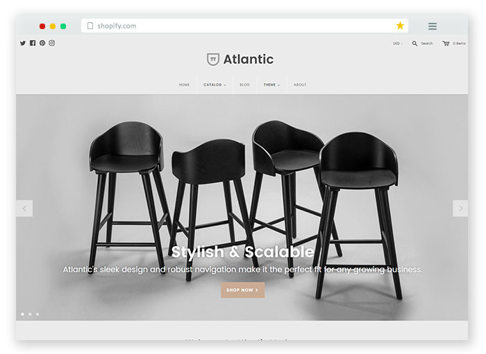 modernfurniture Responsive Shopify Theme