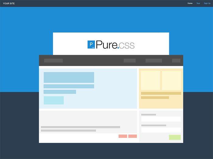 pure HTML5 CSS3 UI Kit