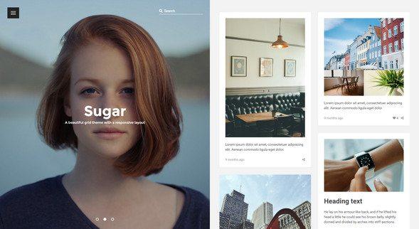 sugar free portfolio tumblr blog