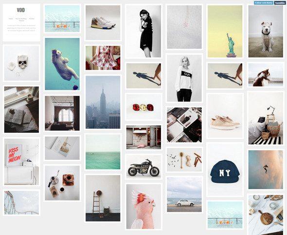 void tumblr themes