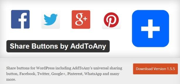 AddToAny Social Media Plugins