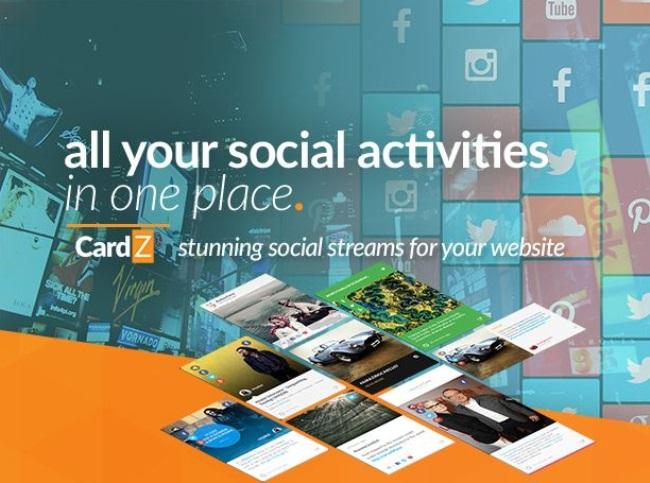 CardZ Social Media Plugins