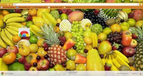Exotic Fruits Chrome Theme