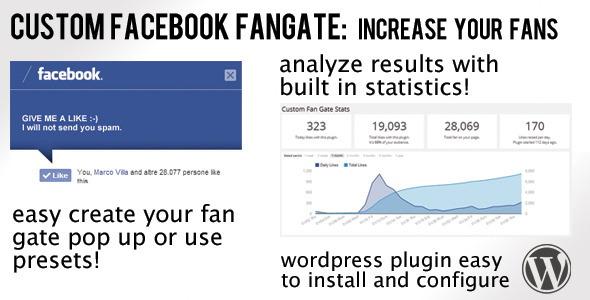 Facebook Fan Gate plugins