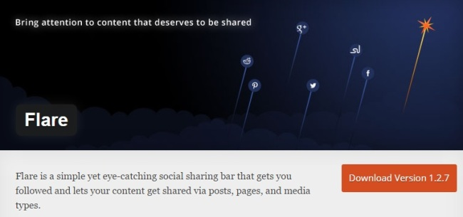 Flare Social Media Plugins