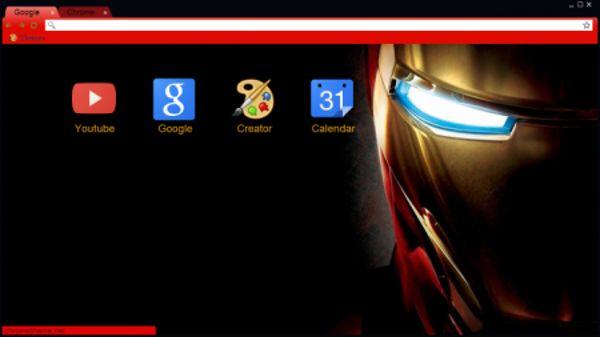 Iron Man 3 HD Chrome Theme