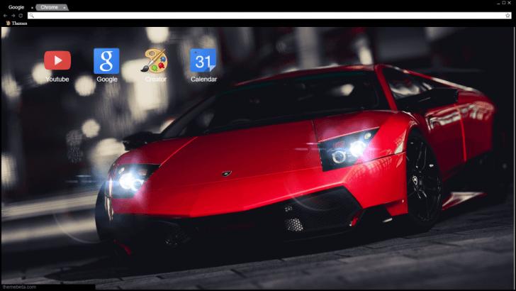 Lamborghini Cherry Chrome Theme