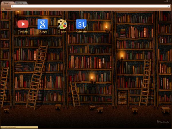 Library Chrome Theme