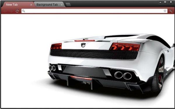Luxurious Lamborghini Chrome Theme