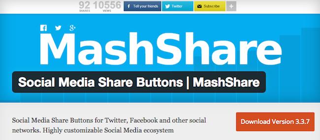 MashShare Social Media Plugins