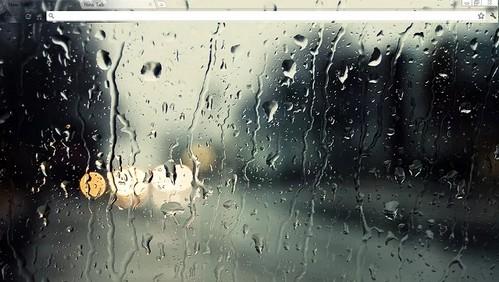 Raindrops Chrome Theme