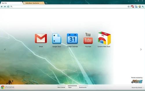 Ratchet Chrome Theme