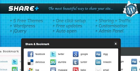 SharePlus Social Media Plugins