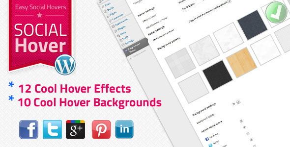 Social Hover Social Media Plugins