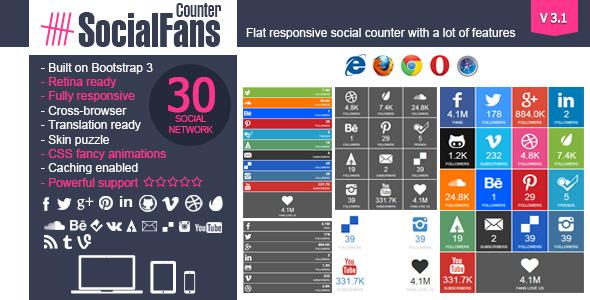 social fans Social Media Plugins