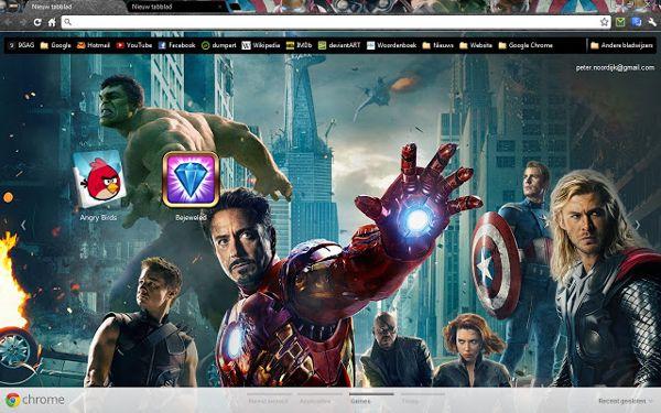 The Avengers Chrome Theme
