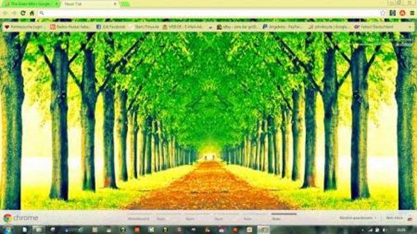 The Green Mile Chrome Theme