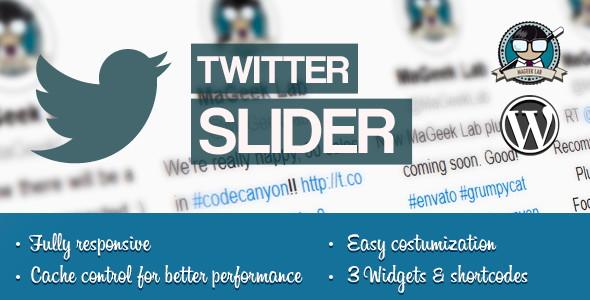 Twitter slider plugins