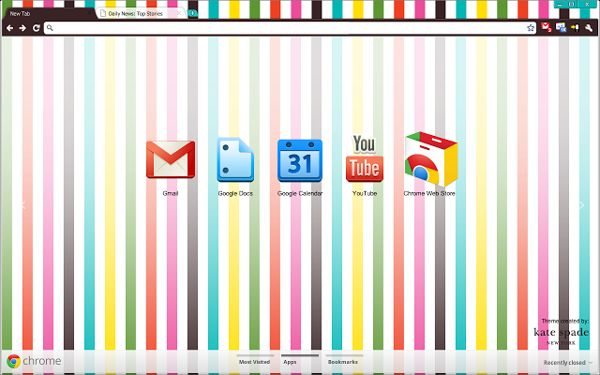 Wit and playful Chrome Theme