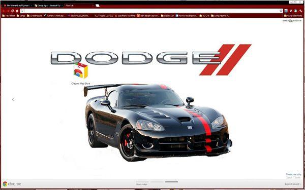 awesome dodge Chrome Theme