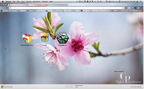 cherry Chrome Theme