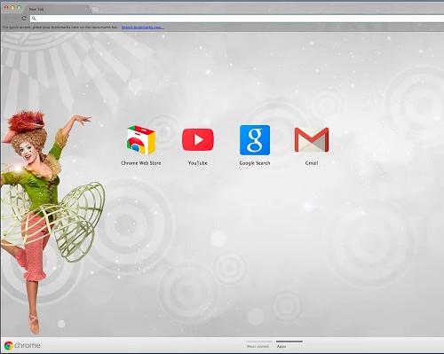 circus inspired Chrome Theme