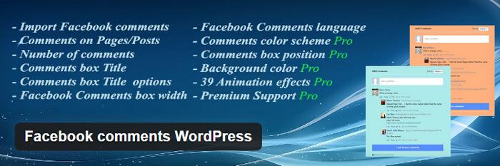 facebook comment system plugins