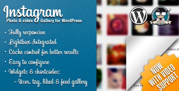 instagram Social Media Plugins
