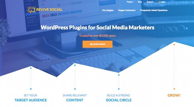 revive old Posts Social Media Plugins
