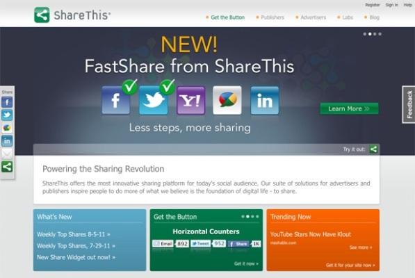 sharethis Social Media Plugins