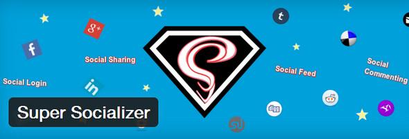 super socializer Social Media Plugins
