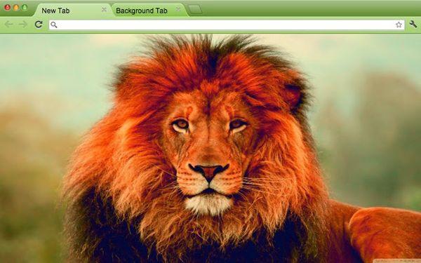 the Lion Chrome Theme