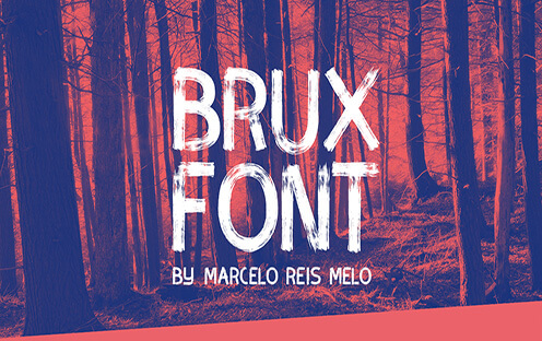 BRUX Best Free Font for Hipsters 2017