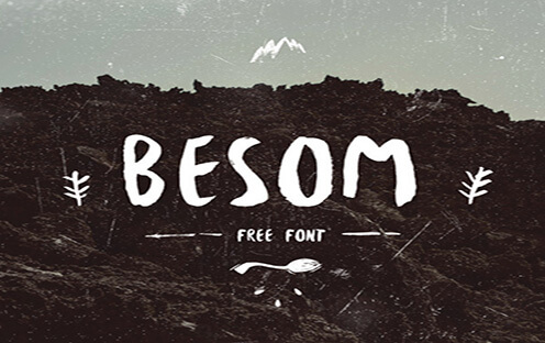 Besom Font for Hipsters